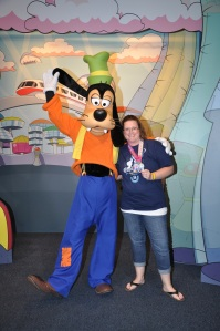 Goofy was proud of me and my 1st 5k!