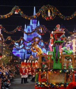 mickeys_merry_christmas_parade_castle