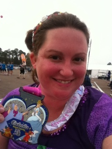 Me Not Dead with my 5k Medal