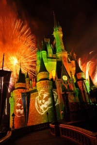 """Happy HalloWishes"" fireworks show at the Magic Kingdom"