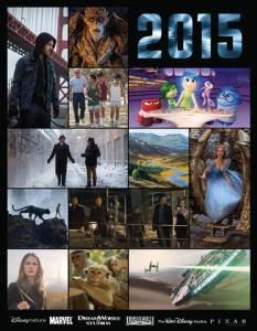 2015 Walt Disney Studios Pictures